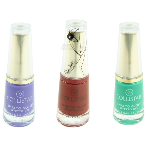 Collistar Gloss Nail Lacquer Gel Effect - Nagel Lack Maniküre Farbauswahl - 6ml - 533 Verde Sportiva