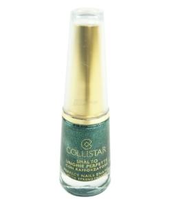 Collistar Perfect Nails Enamel with strengthener - Nail Polish Nagel Lack - 10ml - 69 Verde Lamé-mat
