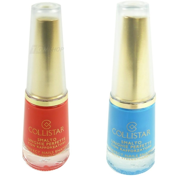 Collistar Perfect Nails Enamel with strengthener - Nail Polish Nagel Lack - 10ml - 37 Trasparente con Glitter
