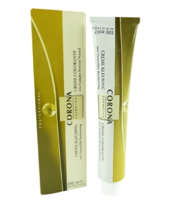 Corona - Creme Colorante - Haar Farbe - Pflege - Coloration - blond - 100ml - 7.5 mahogany blond