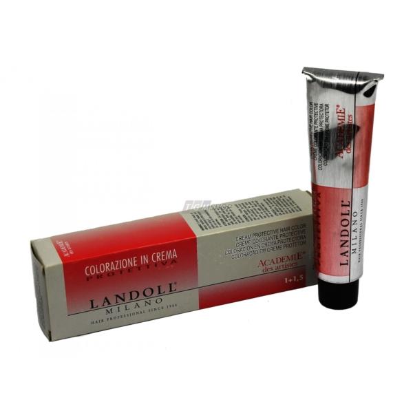 Landoll colorazione crema protettiva permanent Coloration Creme Haar Farbe 60ml - R2 red volcano