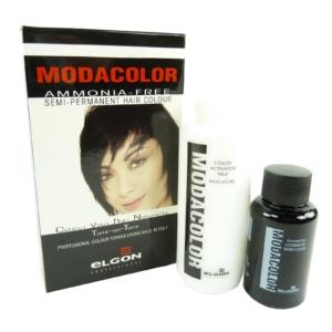 Elgon Modacolor Semi Permanent Colour - Haar Farbe Coloration ohne Ammoniak - # 5-6 Mahagoni Hellbraun