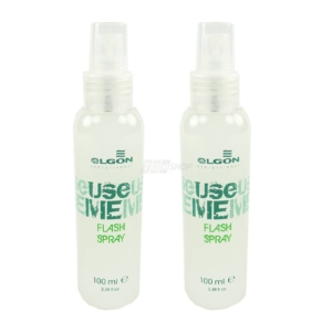 Elgon Use Me Flash Spray - For Extra Shiny Hair - Haar Glanz Pflege - 2x100 ml