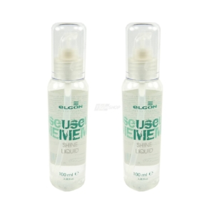 Elgon Use Me Shine Liquid - Frizzy and Bristly Hair - Finishing Spray - 2x100 ml