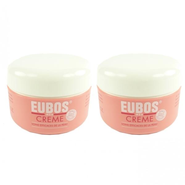 Eubos Med Creme 2x 100ml - Körper Vitamin Pflege trockene Haut Body Skin Cream