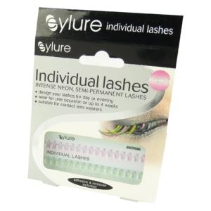 Eylure Individual Lashes NEON Semi permanent Einzelne Wimpern Augen Neon Farben