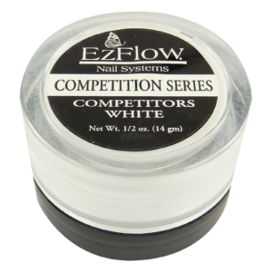 EzFlow Competition Series Competitors White - Acryl Nägel Maniküre weiß 14g