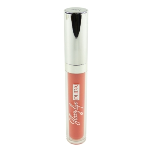 Pupa Glossy Lips Ultra Shine Lip Gloss - Lippen Farbe Make Up Argan Öl 7ml - #401 Lollipop Orange