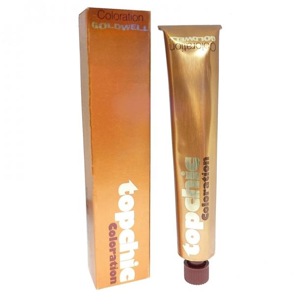 Goldwell Topchic Coloration Haar Farbe Creme - 80 ml - Versch. Nuancen - 7A Mittel Asch Blond