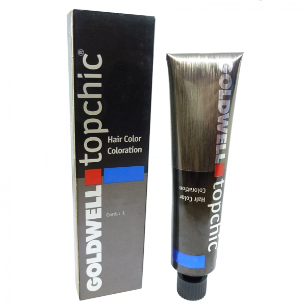 Goldwell Topchic Hair Color Coloration 60ml Haar Creme Farbe Nuancen Auswahl - #07-RV Cool sunset
