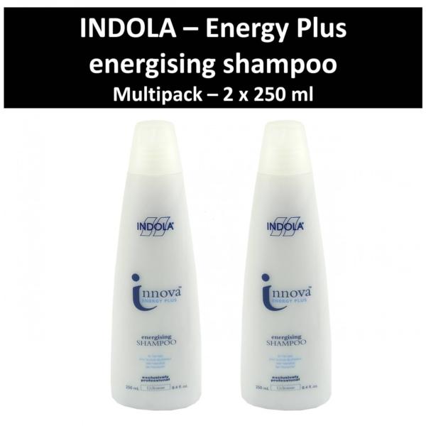 Indola - Innova Energy Plus - energising Shampoo - Haar Pflege Wäsche 2x250 ml