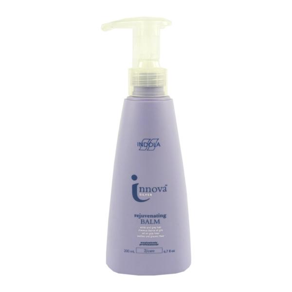 Indola - Innova Silver - rejuvenating balm - Haar Balsam Pflege - 2x200 ml