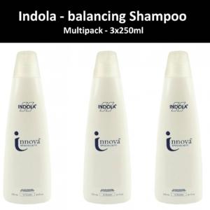 Indola Innova Specialists balancing Shampoo Haar Pflege sanft Multipack 3x250ml