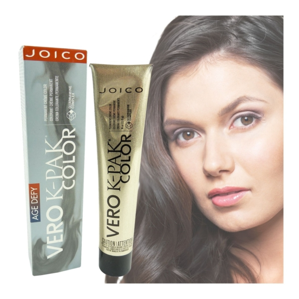 Joico Age Defy Vero K-Pak Color - Permanente Creme Haar Farbe Coloration - 74ml - 3NVR+ natural violet red ebony brown