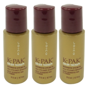 Joico K-PAK Color Therapy Restorative Styling Oil - Haar Pflege Kur 3x21.5ml