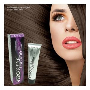 Joico - Vero K-PAK Chrome Demi Permanent Color B5 Hazelnut Haar Farbe 3x60ml