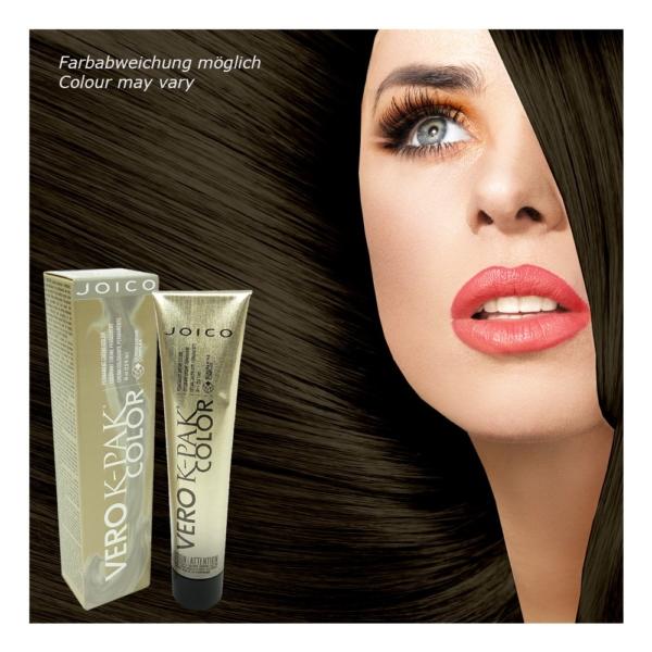 Joico Vero K-Pak Permanent Haar Farbe Creme Coloration 74ml Nuancen zur Auswahl - 4A Dark Ash Brown