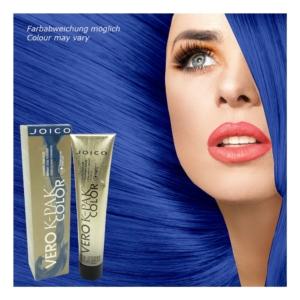 Joico Vero K-Pak Permanent Haar Farbe Creme Coloration 74ml Nuancen zur Auswahl - INB Royal Blue Intensifier
