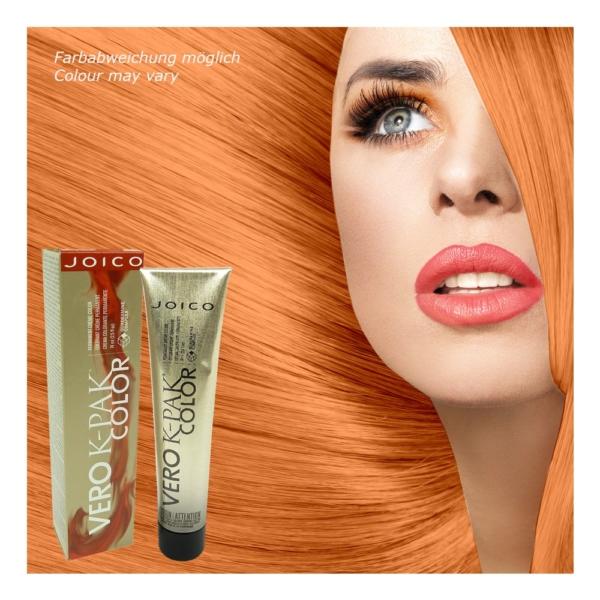 Joico - Vero K-PAK INC Copper Intensifier Permanente Creme Haar Farbe 3x74ml