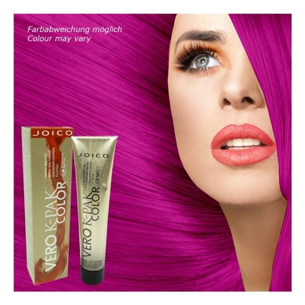 Joico Vero K-PAK INRV Red Violet Intensifier Permanent Creme Haar Farbe - 2x74ml