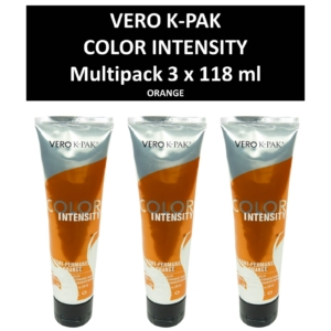 Joico Vero K-PAK Color Intensity Semi Permanent Color ORANGE Haarfarbe 3x118ml
