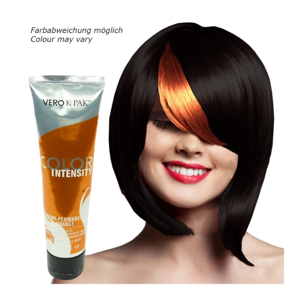Joico Vero K-PAK Color Intensity Semi Permanent Color ORANGE Haarfarbe 3x118ml