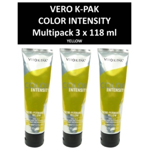Joico Vero K-PAK Color Intensity Semi Permanent Color YELLOW Haarfarbe 3x118ml