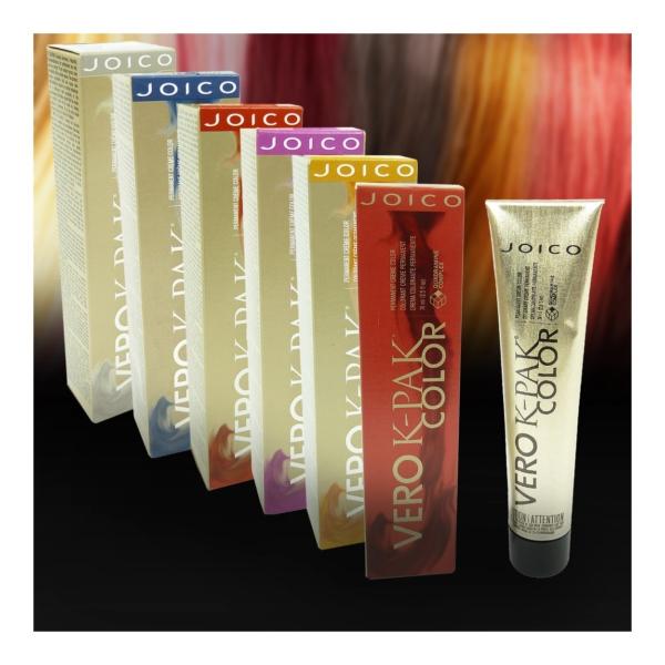 Joico Vero K-Pak Permanent Haar Farbe Creme Coloration 74ml Nuancen zur Auswahl - INC Copper Intensifier