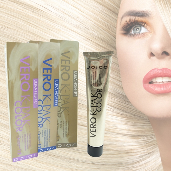 Joico Vero K-Pak Color Ultra High Lift - permanente Creme Haar Farbe Colour 74ml - 11.10 ultra high lift natural - UHLN