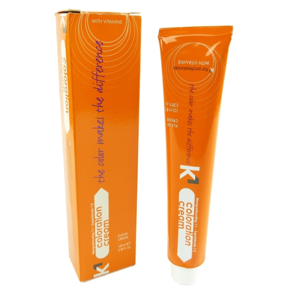 K1 Coloration Cream 100ml - v. Nuancen - Haar Farbe Colour Creme Permanent Color - 06/3 Dark Golden Blonde