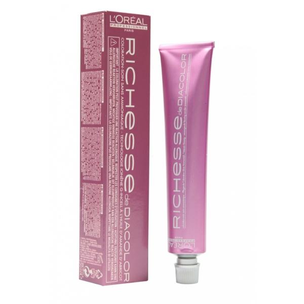 L´OREAL Richesse Diacolor Haar Tönung ohne Ammoniak - Versch. Nuancen - 50ml - #7.41 Honey Copper/Honig Kupfer