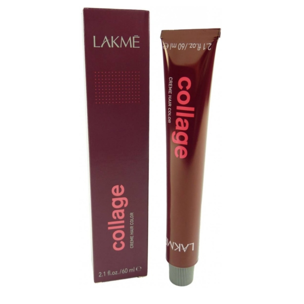 Lakme Collage Hair Color Creme Haar Farbe Coloration 60ml verschiedene Nuancen - 05/59 Red Mahogany Light Brown/Rot Mahagoni Hell Braun