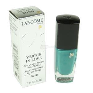 Lancome Vernis in Love - Nagel Lack Farbe Lacquer - Nail Polish Maniküre - 6ml - # 501B Aquamarine