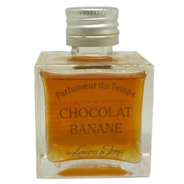Les Lumieres du Temps Parfumeur du Temps - Raum Duft Aroma Diffuser - 50ml - Chocolat Banane - Chocolate Banana