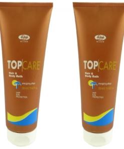 LISAP Hair and Body Bath - Körper u. Haar Sonnenschutz Shampoo MULTPACK 2x250ml
