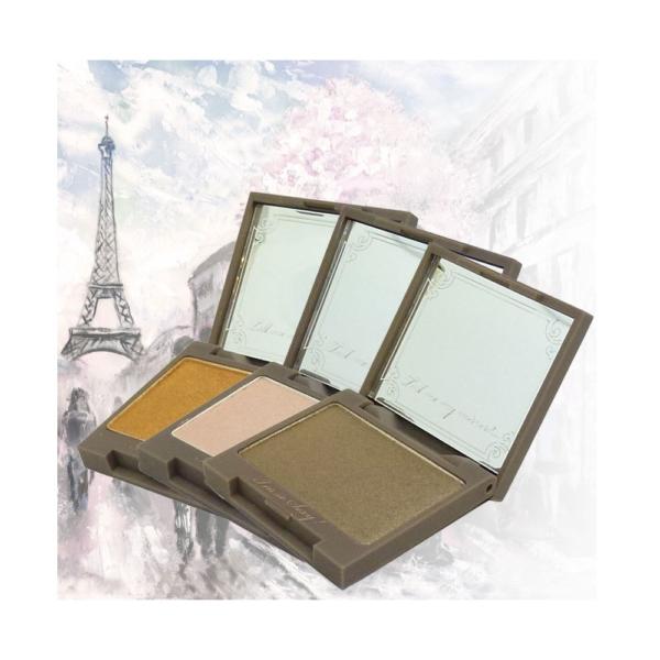 Lollipops Paris Eye Shadow - Lidschatten Farbe Augen Make Up Parabenfrei - 3,5g - 801 Lilis Delight