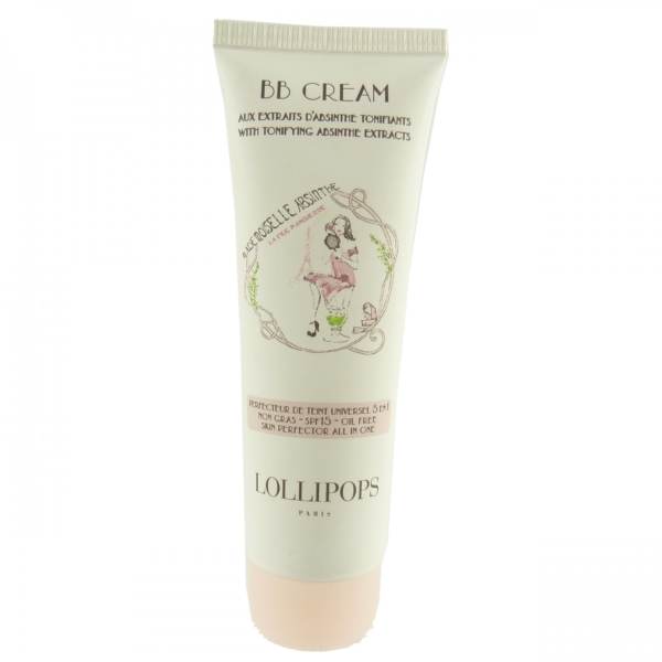 Lollipops Paris Mademoiselle Absinthe BB Cream SPF 15 - Grundierung Make up 30ml