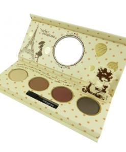 Lollipops Paris Palette Yeux - 4 Farben - Lidschatten Augen Eye Make Up - 7,2g - Nude Saint-Germain