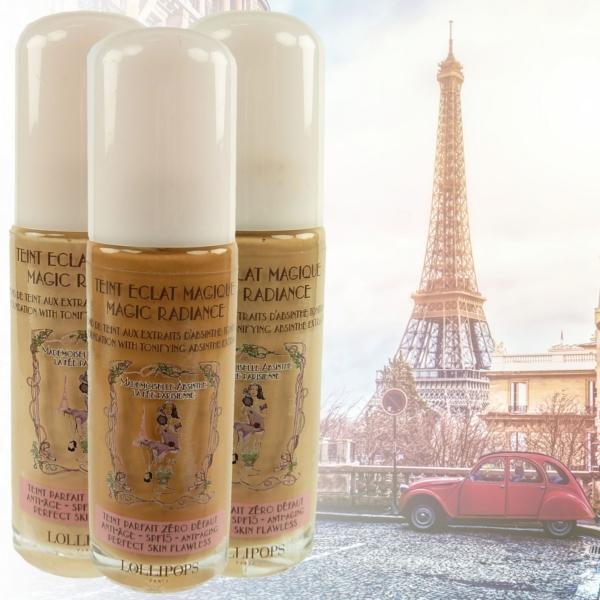 Lollipops Paris Teint Eclat Magique - Grundierung Foundation Make Up - 25ml - 30 Tanned