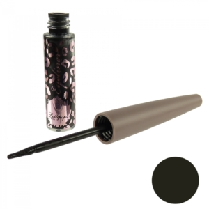 Lollipops liquid Eyeliner - 750 schwarz - Augen Make Up Stift Parabenfrei - 3ml