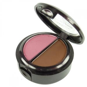 Loreal HiP Concentrated Shadow Duo - 2,4g - Lid Schatten Eye Make Up Kosmetik - 118 Brazen