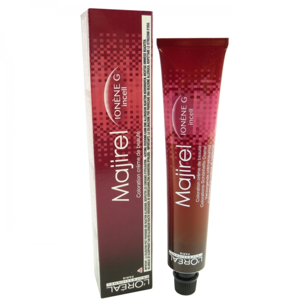 Loreal Majirel Coloration Creme Farb Auswahl Permanent colour Haar Farbe 50ml - 08,07 light blonde light cool