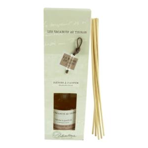 Lothantique Les Vacances au Thoron Fragrance Sticks Raum Duft Diffuser - 100ml - La Remise de Jules - Earth