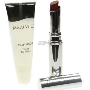 Malu Wilz Lip Sensation Lippen Stift Farbe Lip Gloss Set Makeup Kosmetik - # 08