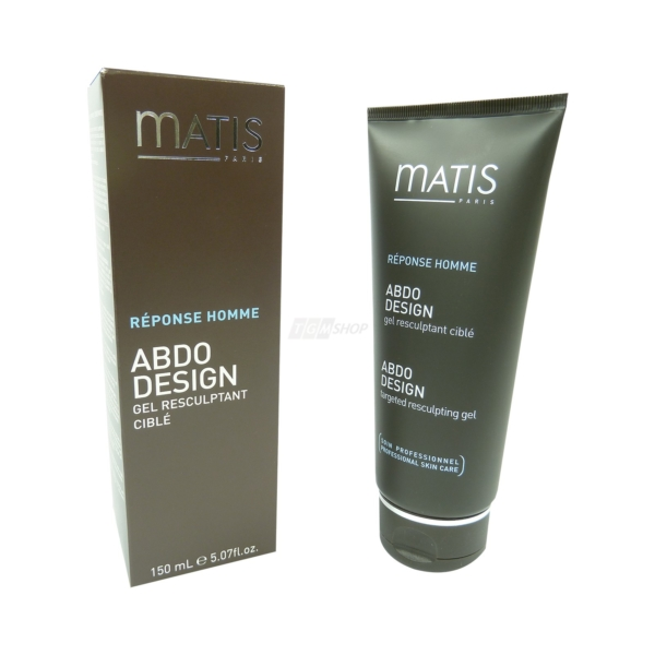 Matis - Reponse Homme - Abdo Design Gel Resculptant Cible Resculpting gel 150ml