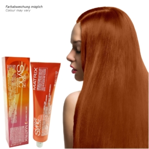 Matrix Socolor Color Sync - Demi Permanent Tönung Creme Haar Farbe - 84ml - # 8RC Light Blonde Red Copper - Hellblond Rot Kupfer