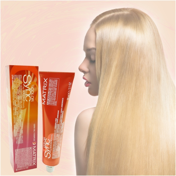Matrix Socolor Color Sync - Demi Permanent Tönung Creme Haar Farbe - 84ml - # 7R Medium Blonde Red - Mittelblond Rot