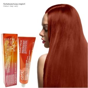 Matrix Socolor Color Sync - Demi Permanent Tönung Creme Haar Farbe - 84ml - # 7R Medium Blonde Red - Mittelblond Rot