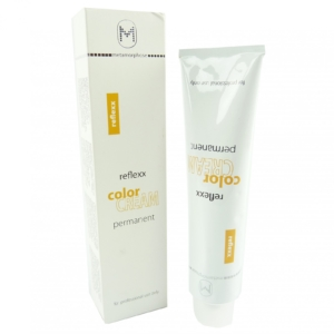 Metamorphose Reflexx Color Cream Permanente Haar Farbe 120ml in vielen Nuancen - 7.444 medium blonde extra intens copper