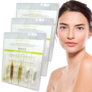PHYT´S Soin Phyt'ssima Gesicht Pflege Kur trockene Haut MULTIPACK 3x5 Ampullen